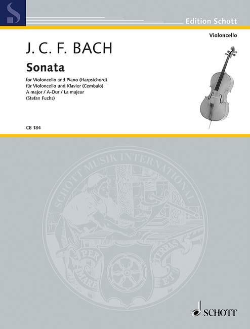 Sonata una importante importante importante Bach, Johann Christoph Friedrich violonchelo y piano 9790001140133  Ahorre 35% - 70% de descuento